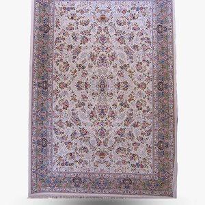 فرش ۱۲۰۰ شانه طرح نیلی برجسته