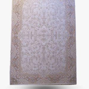 فرش ۱۲۰۰ شانه طرح کلارا گل برجسته