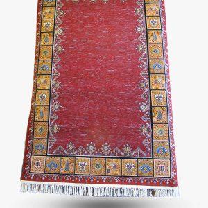 فرش طرح گبه ۶۵۰ شانه کد ۳۱۲ قرمز