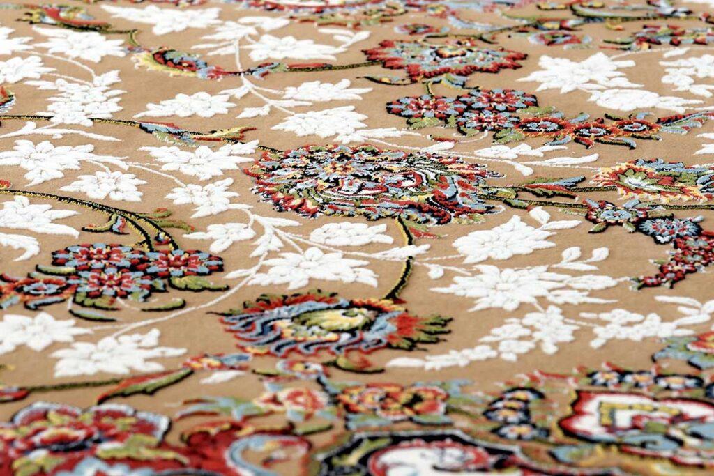 فرش گل برجسته